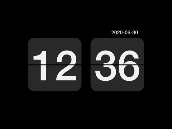 Digital Retro Clock screenshot 6