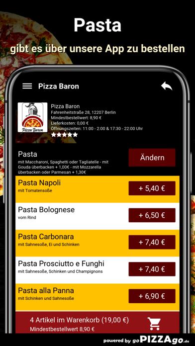 Baron Berlin Pizza screenshot 6