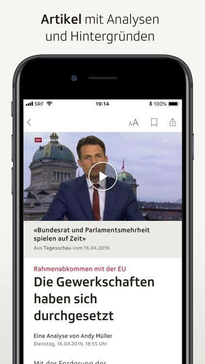 SRF News screenshot-3