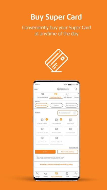 My Ufone - یوفون screenshot-5