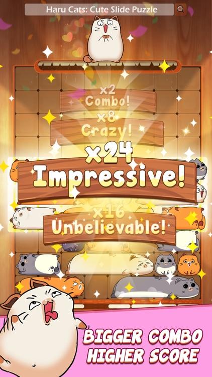 Haru Cats®: Cute Slide Puzzle screenshot-3