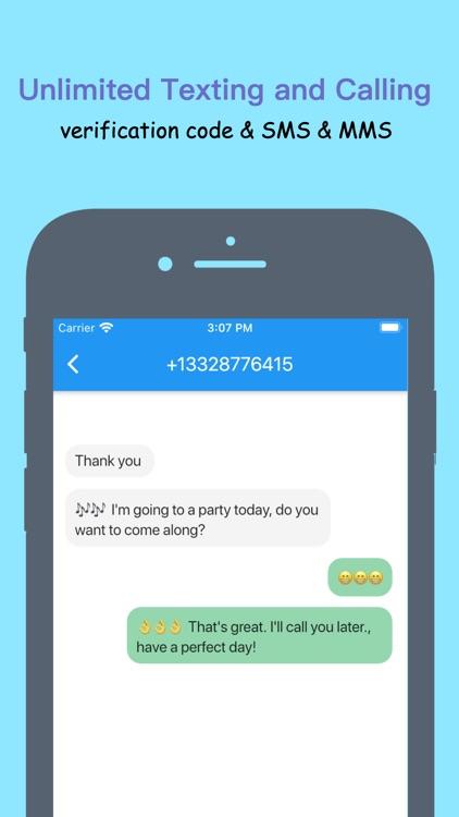 Freedom Call: 2nd Phone Number screenshot-3