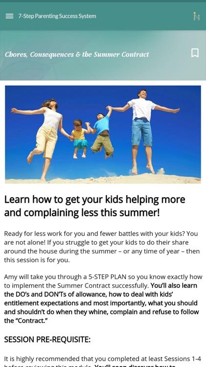 Positive Parenting Solutions screenshot-3