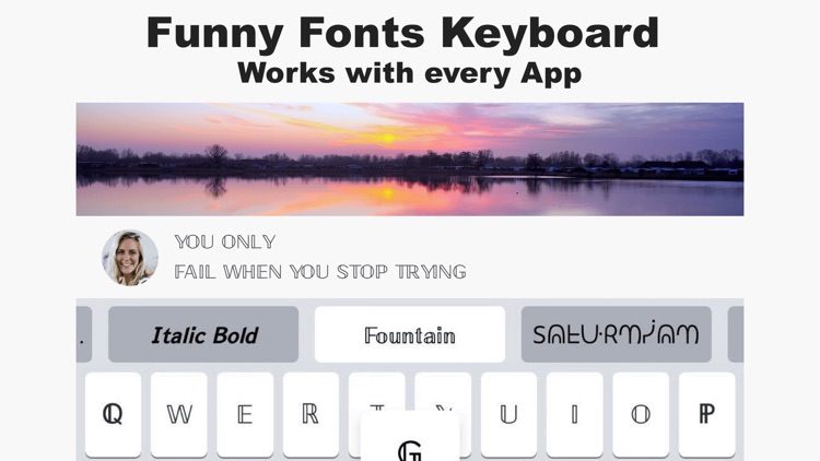 Fonts Keyboard - Fonts & Emoji