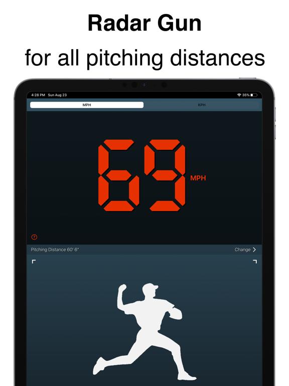Pitch Counter + Speed Calculator – For Baseball & Softball screenshot