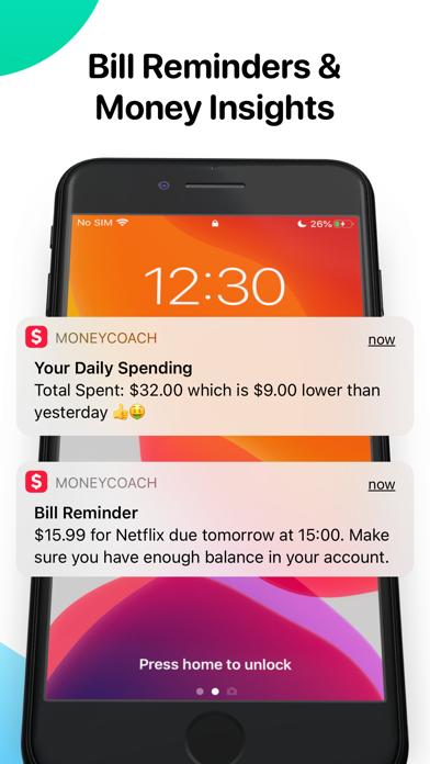 MoneyCoach Budget & Spendings Screenshot