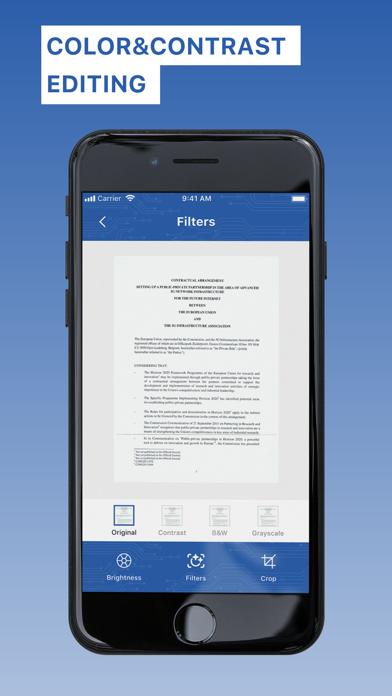 Приложение сканера - FreeScanСкриншоты 7
