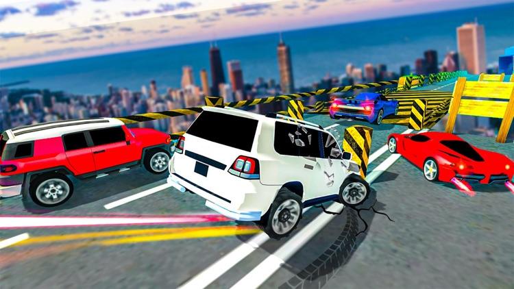 Prado Car Stunts Mega Ramp SUV
