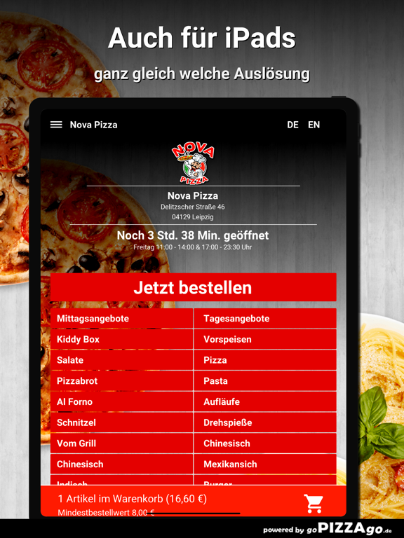 Nova Pizza Leipzig screenshot 7