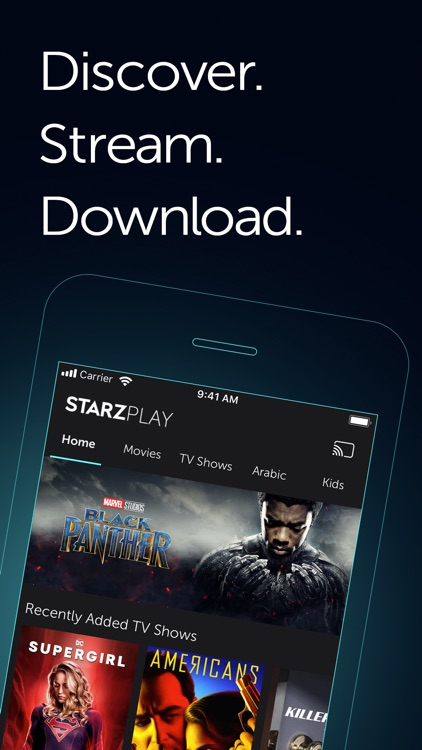 STARZPLAY ستارزبلاي screenshot-0