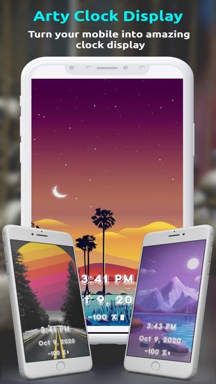 ClockDisplay - Time Wallpaper screenshot-7