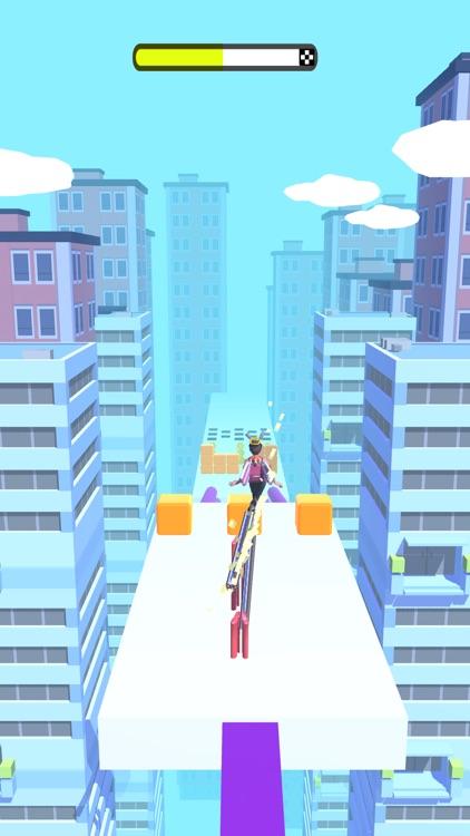 Heels Runner 3D -Tricky Master