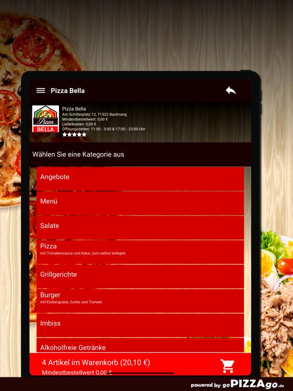 Pizza Bella Backnang screenshot 8