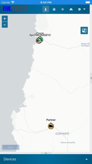 Biltech GPS screenshot 3