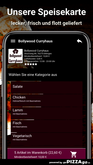 Bollywood Curryhaus Ettlingen screenshot 3