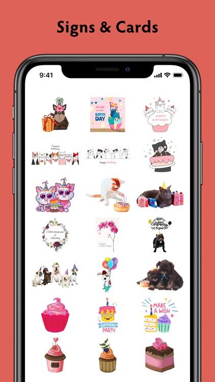 Birthday Stickers #1 screenshot-4
