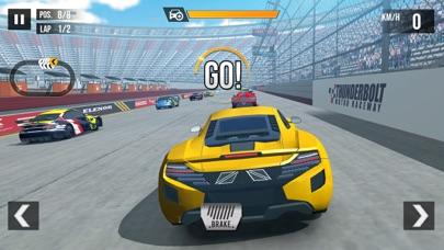 لعبة سباق سيارات سريعة ثري ديلقطة شاشة7