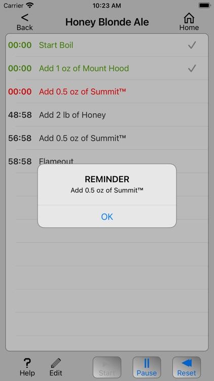 Homebrew Timer screenshot-3