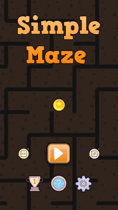 Simple Maze Game screenshot 1