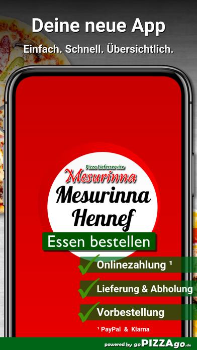 Mesurinna Hennef Lieferservice screenshot 1