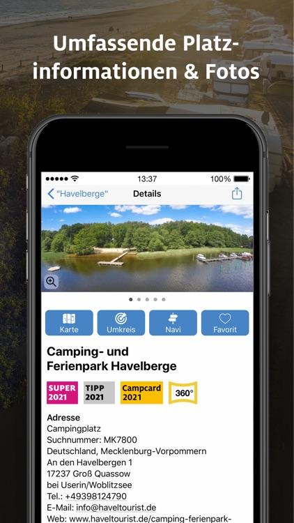 ADAC Camping / Stellplatz 2021 screenshot-7