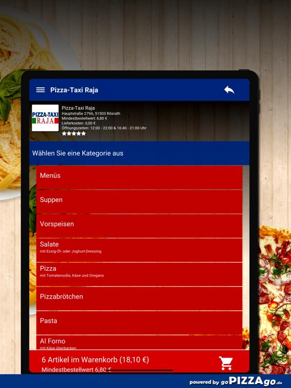 Pizza-Taxi Raja Rösrath screenshot 8