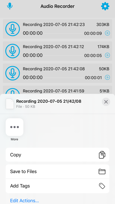 Audio Recorder For Voice screenshot 3