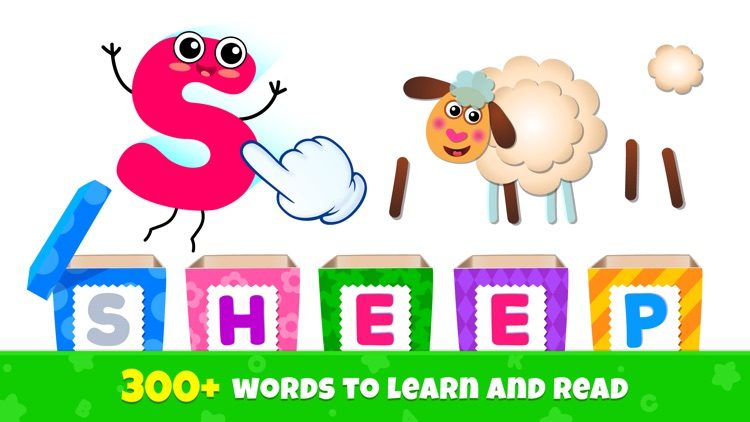 ABC Phonics Kids Reading Games screenshot-1