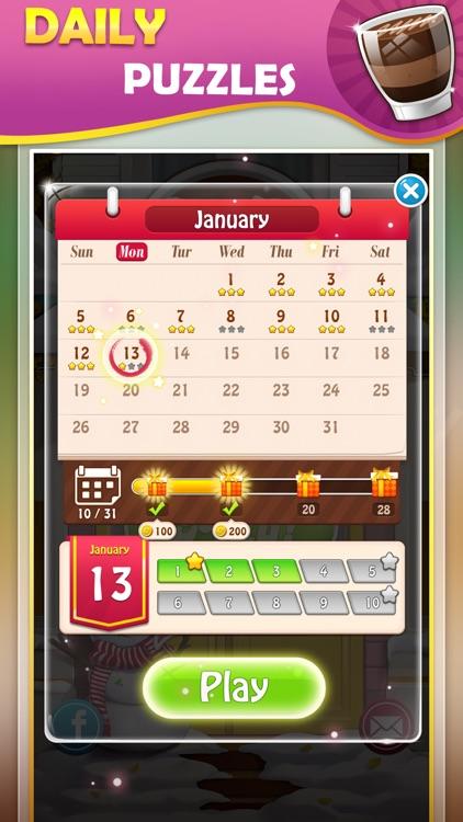 Brain training game:WordCoffee screenshot-4