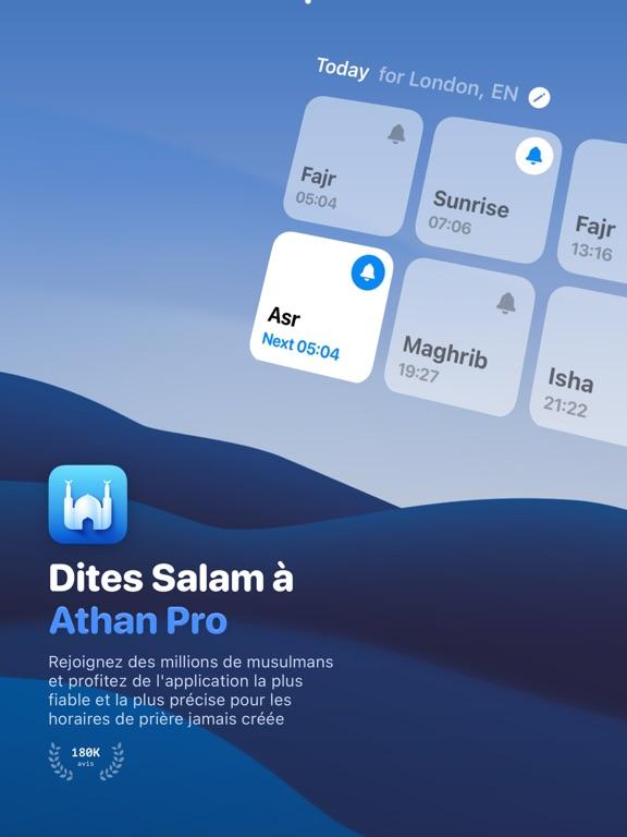 Athan Pro: Coran, Azan, Qibla