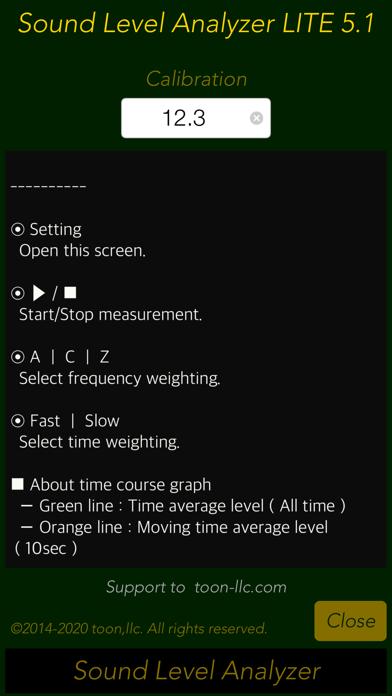 Sound Level Analyzer Liteのおすすめ画像4