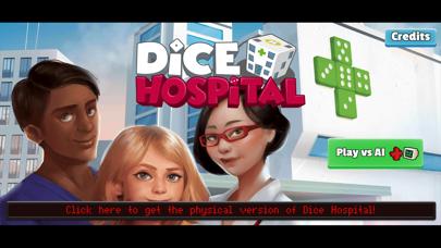 Screenshot of Dice Hospital App