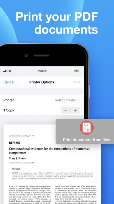 iPrint - Smart Printer Scanner Screenshot
