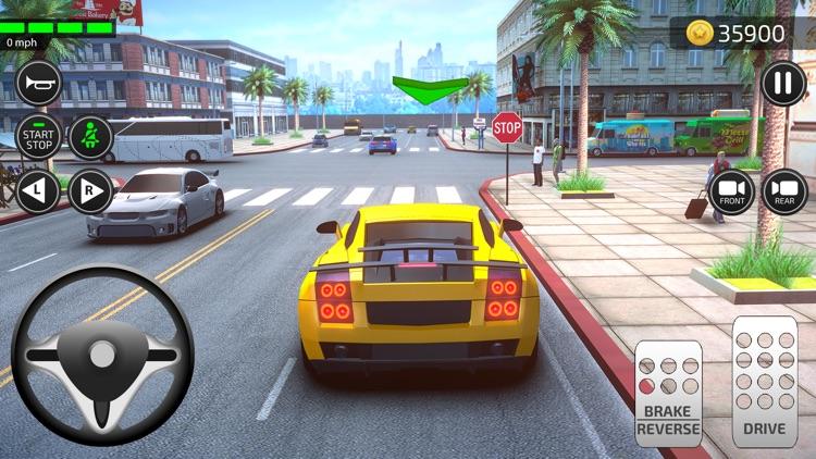 Car Games 3D Driving Academy screenshot-7