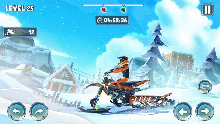 Snow Bike Racing Game screenshot-3