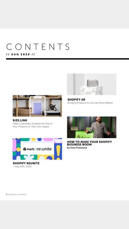 eCommerce Informer Magazine