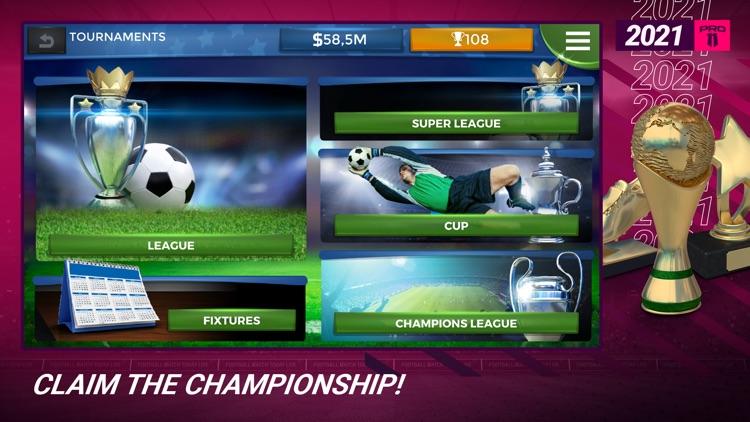 Pro 11 - Soccer Manager Game screenshot-4