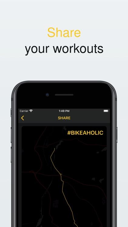 Bikeaholic - Activity tracker screenshot-6