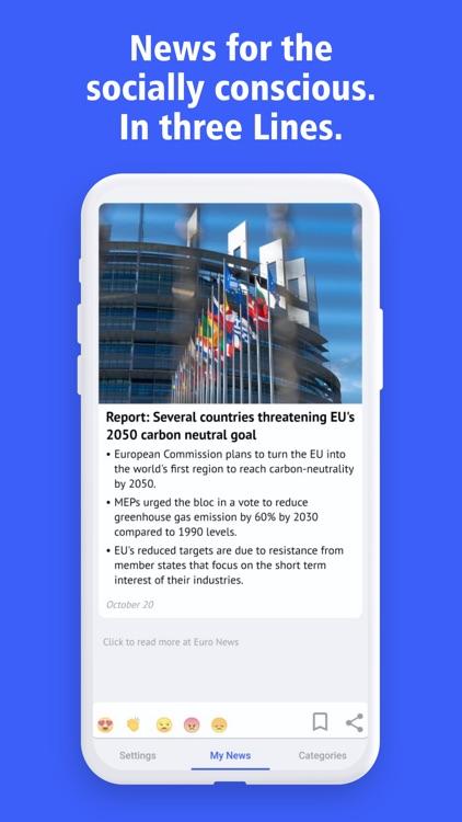 NITL: News In Three Lines screenshot-0
