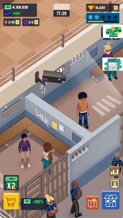 Скриншот №6 к Idle Police Tycoon - Cops Game