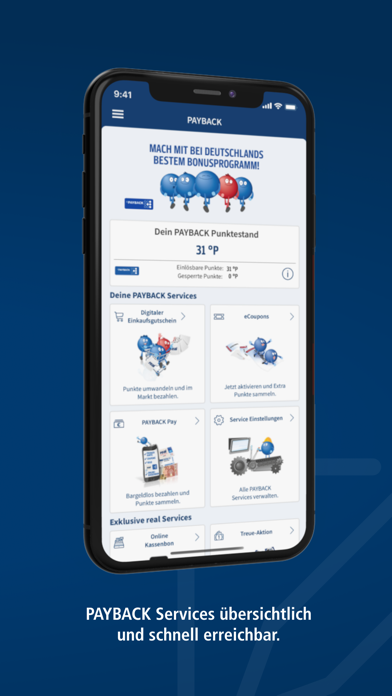 real - Vorteile & ServicesScreenshot von 4