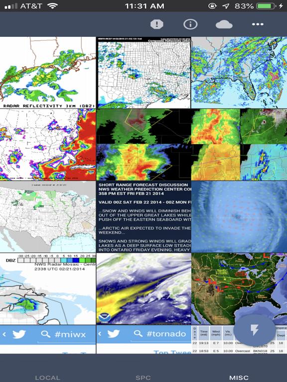 NOAA Weather Radar & Forecast screenshot 11