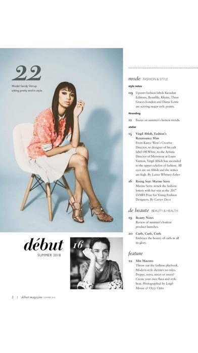 début magazineScreenshot of 2