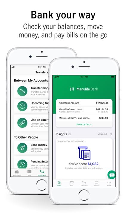 Manulife Bank Mobile screenshot-5
