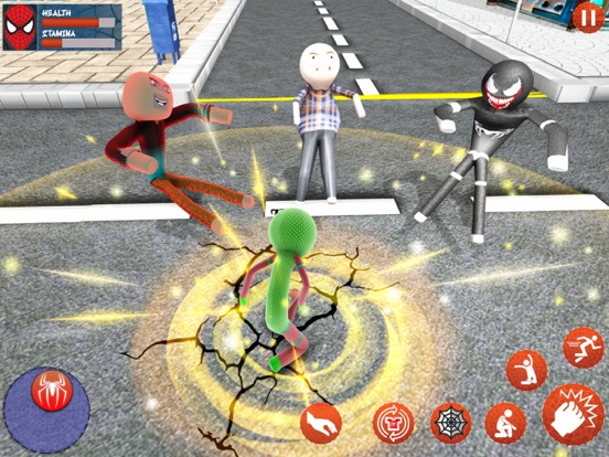 Amazing Rope Stickman Warriors screenshot 5