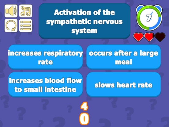 Nervous System & Anatomy Quiz screenshot 10