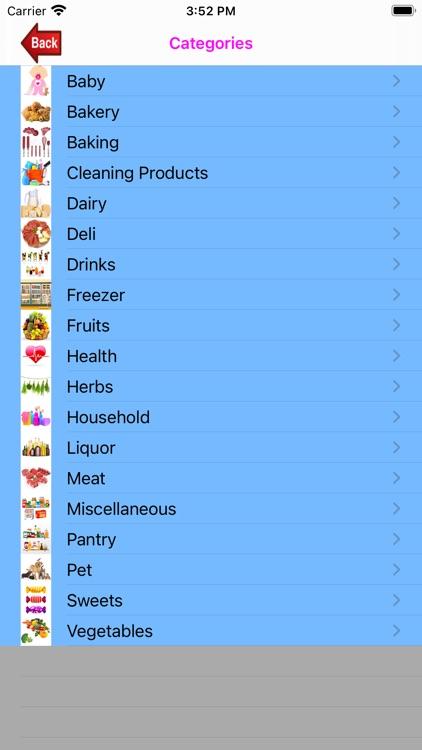 Shopping-List. screenshot-3