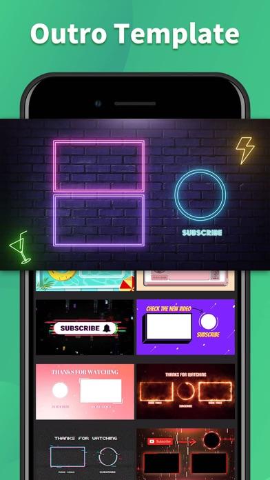 Intro Maker & Outro Editor App紹介画像3