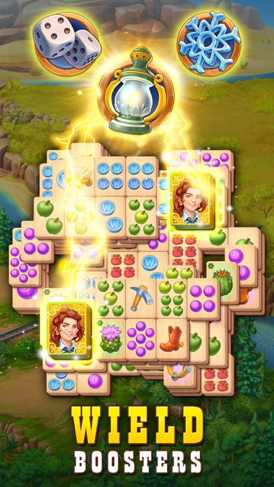 Sheriff of Mahjong: Tile Match screenshot 2