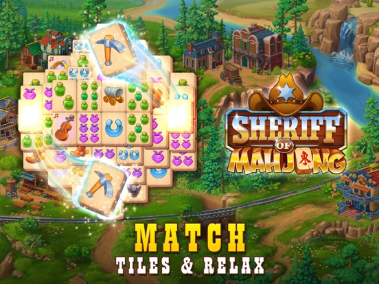 Sheriff of Mahjong: Tile Match screenshot 9